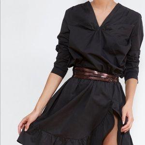 Mes Demoiselles Amazone Cotton Dress Black 42